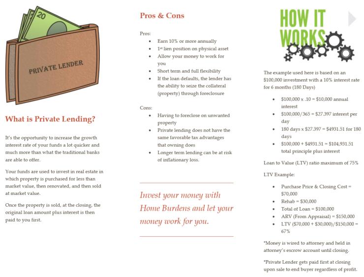 Private Lending Brochure 2